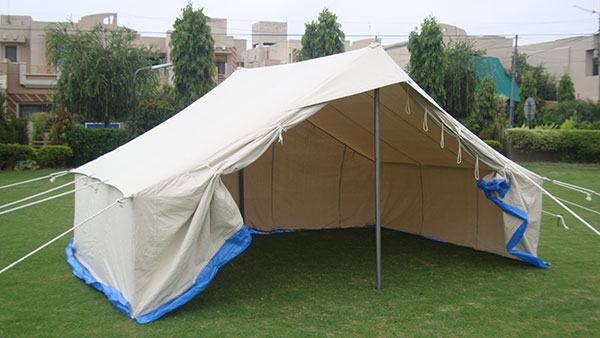 Single Fly Emergency Tent