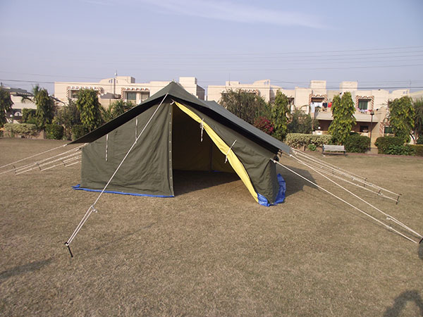 Ridge Tent, Double Fly Double Fold