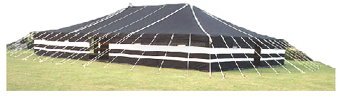 Large Deluxe Tents